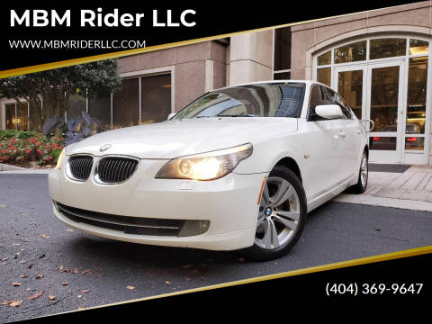 2010 BMW 5 Series for sale at MBM Rider LLC in Alpharetta GA