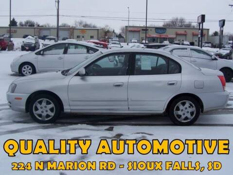 2005 Hyundai Elantra for sale at Quality Automotive in Sioux Falls SD