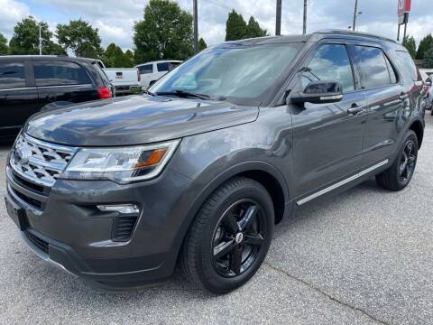 2018 Ford Explorer for sale at Modern Automotive in Boiling Springs SC