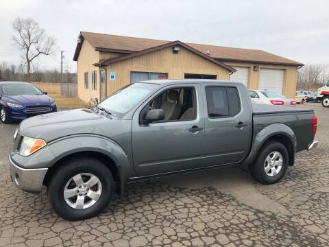 2007 Nissan Frontier for sale at DAVE KNAPP USED CARS in Lapeer MI