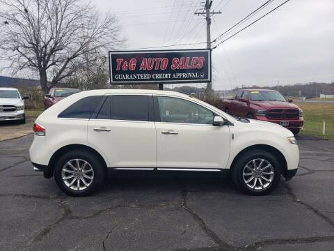 2012 Lincoln MKX for sale at T & G Auto Sales in Florence AL