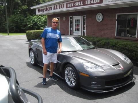 2012 Chevrolet Corvette for sale at HOGSTEN AUTO WHOLESALE in Ocala FL