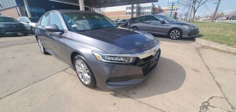 2019 Honda Accord for sale at Divine Auto Sales LLC in Omaha NE
