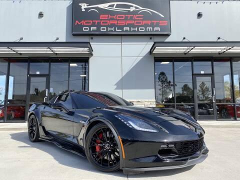 2015 Chevrolet Corvette for sale at Exotic Motorsports of Oklahoma in Edmond OK