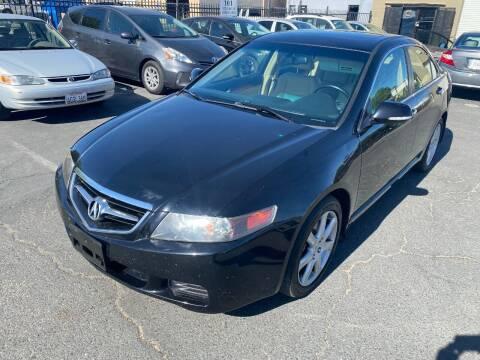 2004 Acura TSX for sale at 101 Auto Sales in Sacramento CA