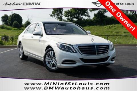2017 Mercedes-Benz S-Class for sale at Autohaus Group of St. Louis MO - 3015 South Hanley Road Lot in Saint Louis MO