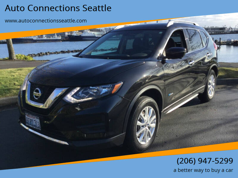 2017 Nissan Rogue Hybrid for sale at Auto Connections Seattle in Seattle WA