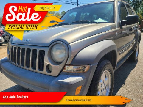 2007 Jeep Liberty for sale at Ace Auto Brokers in Charlotte NC