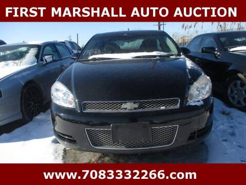 2012 Chevrolet Impala for sale at First Marshall Auto Auction in Harvey IL