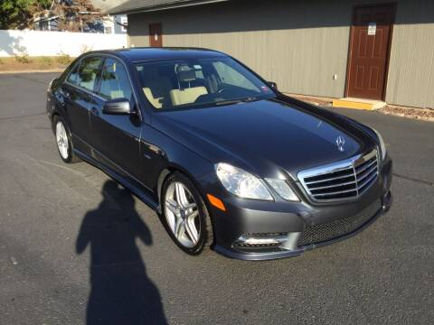 2012 Mercedes-Benz E-Class for sale at International Motor Group LLC in Hasbrouck Heights NJ