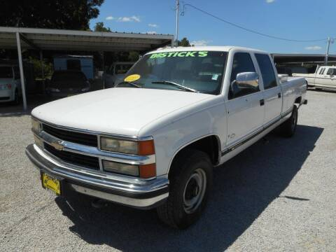 1997 Chevrolet C/K 3500 Series for sale at Bostick's Auto & Truck Sales in Brownwood TX