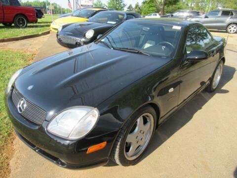 1999 Mercedes-Benz SLK for sale at Dallas Auto Mart in Dallas GA