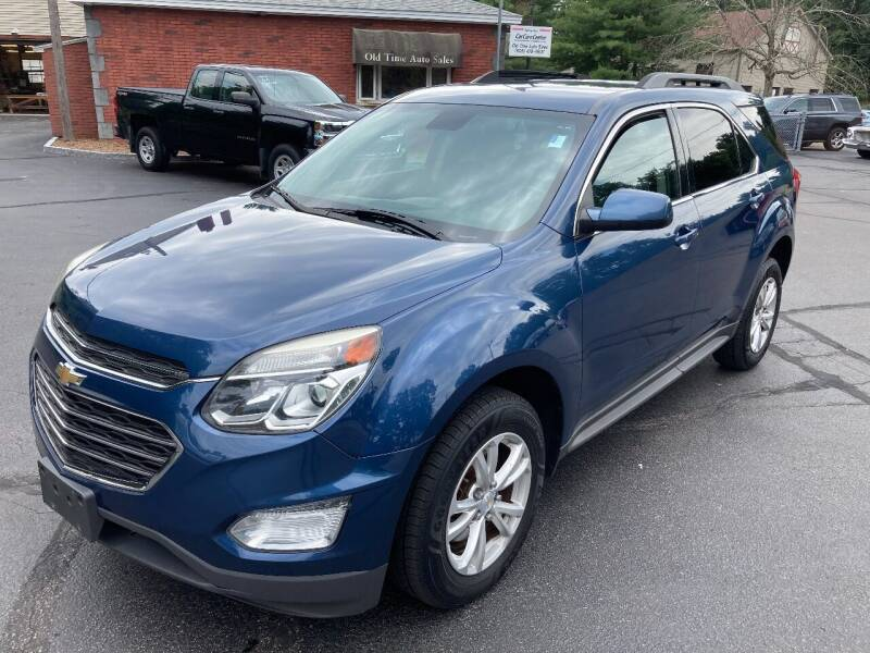 2016 Chevrolet Equinox for sale at Old Time Auto Sales, Inc in Milford MA