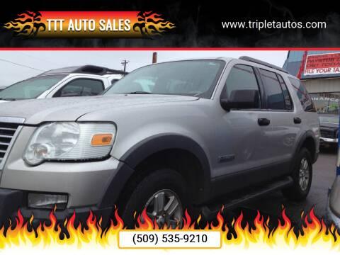 2006 Ford Explorer for sale at TTT Auto Sales in Spokane WA