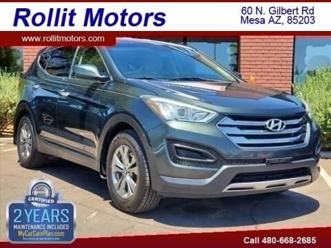 2013 Hyundai Santa Fe Sport for sale at Rollit Motors in Mesa AZ