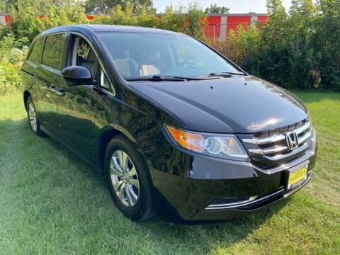 2015 Honda Odyssey for sale at M & M Motors in West Allis WI