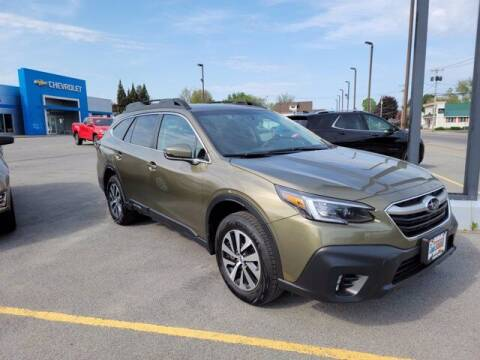 2020 Subaru Outback for sale at Frenchie's Chevrolet and Selects in Massena NY