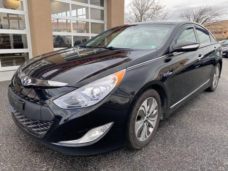 2014 Hyundai Sonata Hybrid for sale at MAGIC AUTO SALES - Magic Auto Prestige in South Hackensack NJ