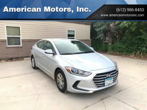2017 Hyundai Elantra for sale at American Motors, Inc. in Farmington MN