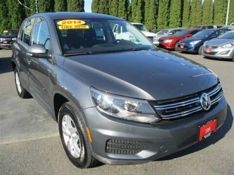 2014 Volkswagen Tiguan for sale at GMA Of Everett in Everett WA