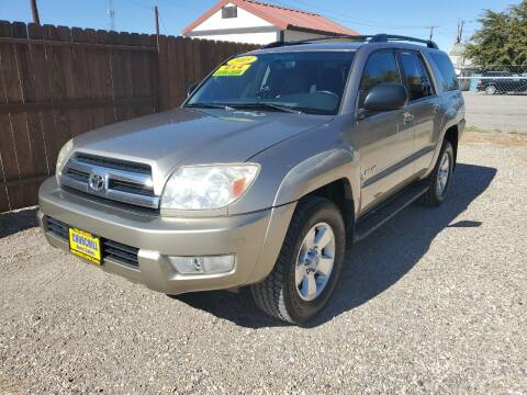 2005 Toyota 4Runner for sale at CHURCHILL AUTO SALES in Fallon NV