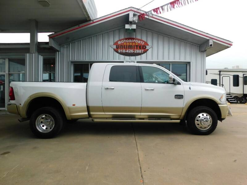 2011 RAM Ram Pickup 3500 for sale at Motorsports Unlimited in McAlester OK
