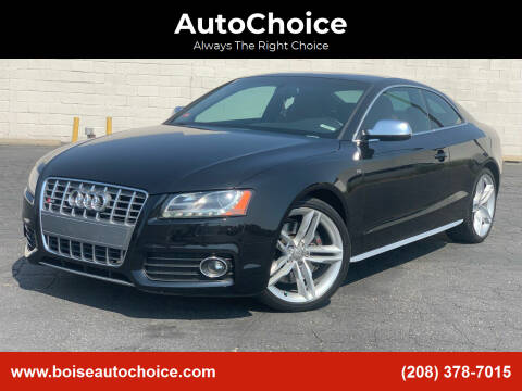 2012 Audi S5 for sale at AutoChoice in Boise ID