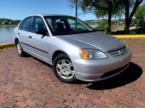 2001 Honda Civic for sale at PUTNAM AUTO SALES INC in Marietta OH