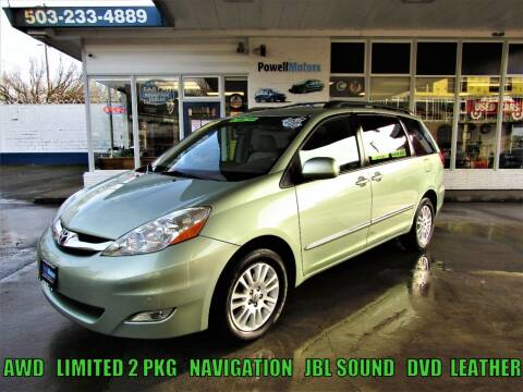 2008 Toyota Sienna for sale at Powell Motors Inc in Portland OR