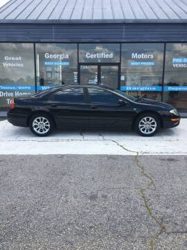 1999 Chrysler 300M for sale at Georgia Certified Motors in Stockbridge GA