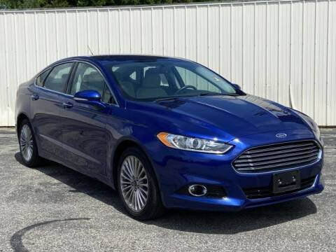 2016 Ford Fusion for sale at Miller Auto Sales in Saint Louis MI