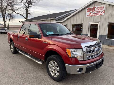 2013 Ford F-150 for sale at B & B Auto Sales in Brookings SD