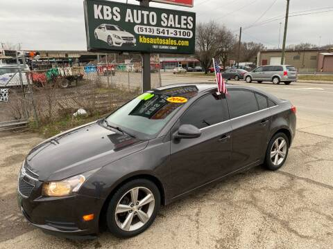 2014 Chevrolet Cruze for sale at KBS Auto Sales in Cincinnati OH