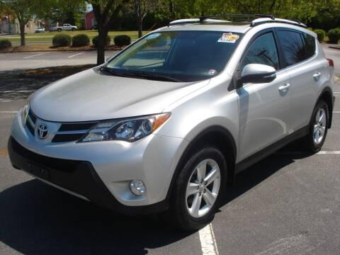 2013 Toyota RAV4 for sale at Uniworld Auto Sales LLC. in Greensboro NC