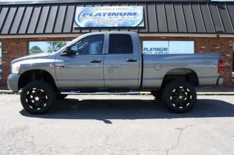 2008 Dodge Ram Pickup 2500 for sale at Platinum Auto World in Fredericksburg VA