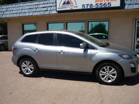 2011 Mazda CX-7 for sale at Mountain View Motors Inc in Colorado Springs CO