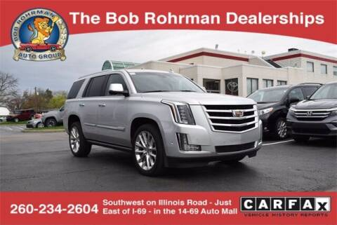 2018 Cadillac Escalade for sale at BOB ROHRMAN FORT WAYNE TOYOTA in Fort Wayne IN