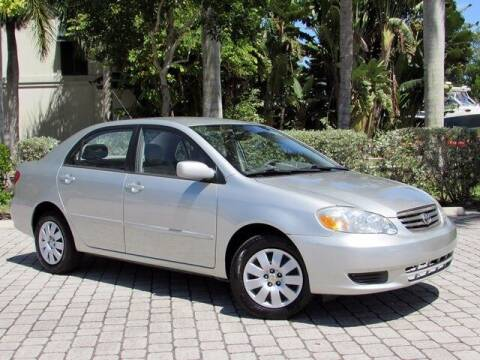 2003 Toyota Corolla for sale at Auto Quest USA INC in Fort Myers Beach FL