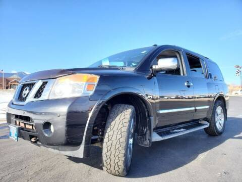 2010 Nissan Armada for sale at Lakeside Auto Brokers Inc. in Colorado Springs CO