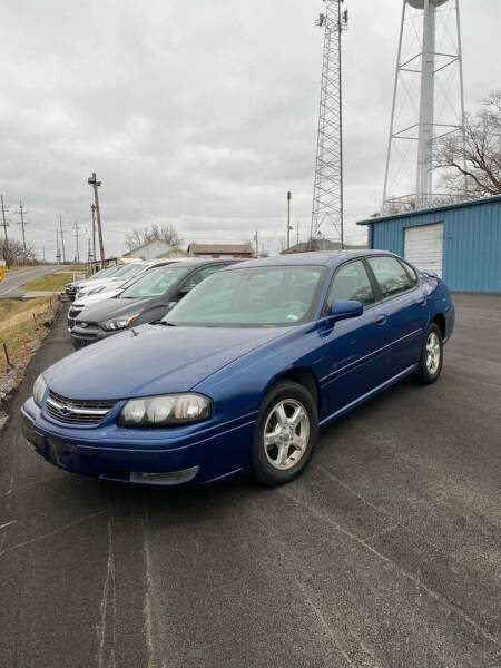 2004 Chevrolet Impala for sale at MJ'S Sales in Foristell MO