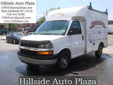 2003 Chevrolet Express Cutaway for sale at Hillside Auto Plaza in Kew Gardens NY