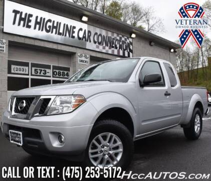 2015 Nissan Frontier for sale at The Highline Car Connection in Waterbury CT