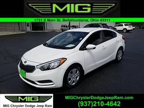 2016 Kia Forte for sale at MIG Chrysler Dodge Jeep Ram in Bellefontaine OH