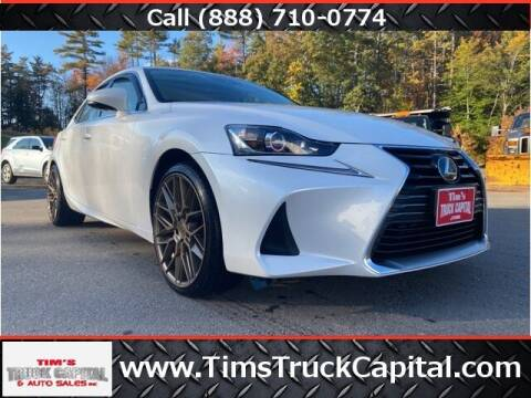 2017 Lexus IS 300 for sale at TTC AUTO OUTLET/TIM'S TRUCK CAPITAL & AUTO SALES INC ANNEX in Epsom NH