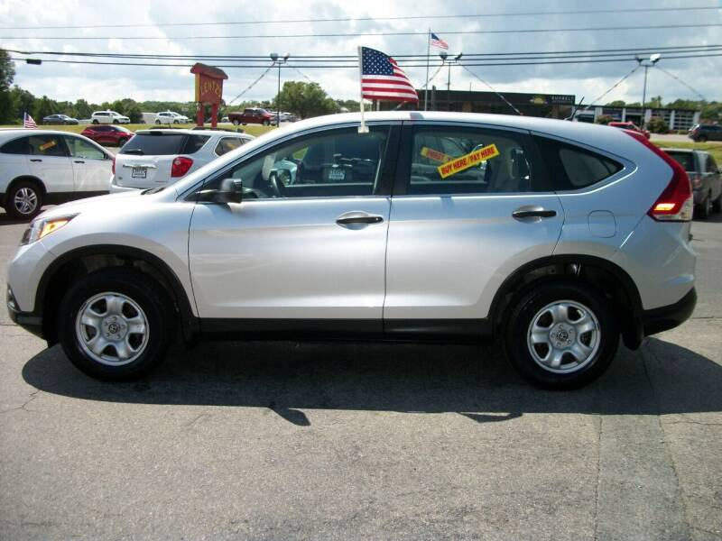 2014 Honda CR-V for sale at Lentz's Auto Sales in Albemarle NC