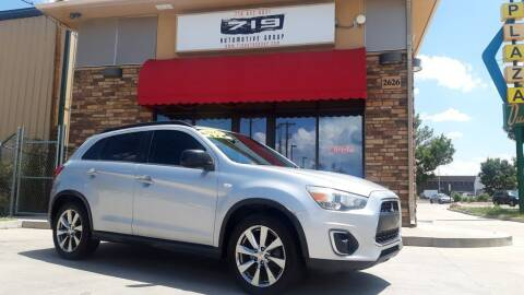 2013 Mitsubishi Outlander Sport for sale at 719 Automotive Group in Colorado Springs CO