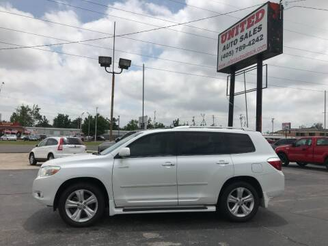 2009 Toyota Highlander for sale at United Auto Sales in Oklahoma City OK