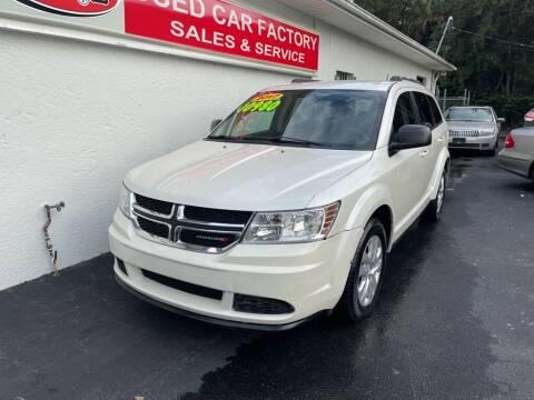 2017 Dodge Journey for sale at Used Car Factory Sales & Service in Port Charlotte FL