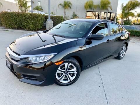 2017 Honda Civic for sale at Destination Motors in Temecula CA