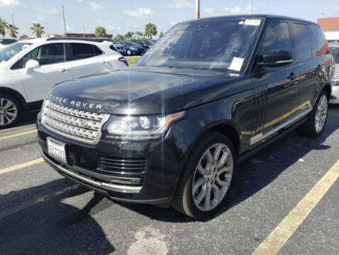 2017 Land Rover Range Rover for sale at AUTOSPORT MOTORS in Lake Park FL